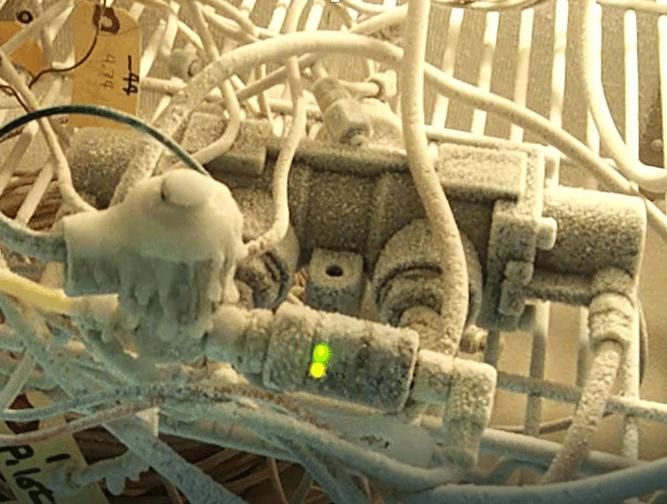 valve in frigid environment