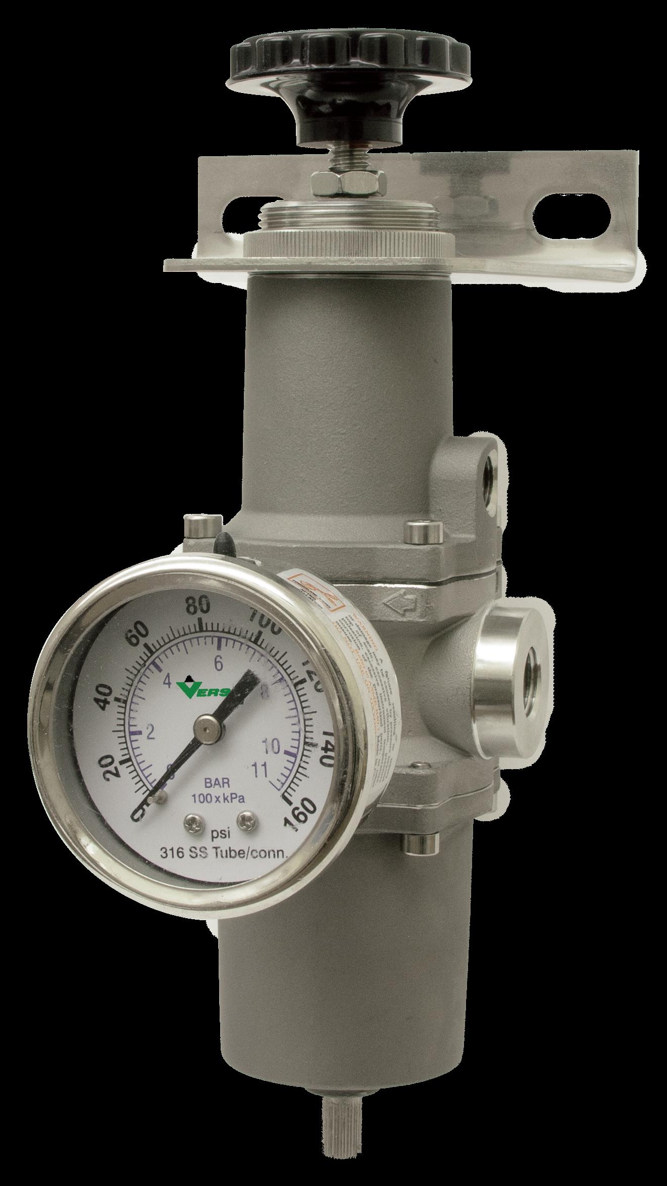 upstream filter and regulator